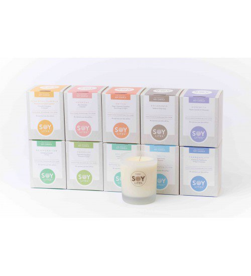 Serenity soy candle - Soylites
