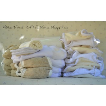 Mother Nature - Part-Time Pack: The Nature Nappy